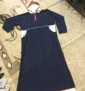 Платье домашнее новое,длинное