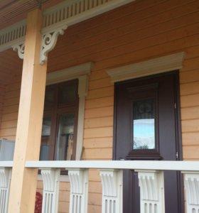 Ограждения веранд и балконов