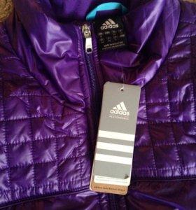 Куртка женская Adidas новая весна-осень