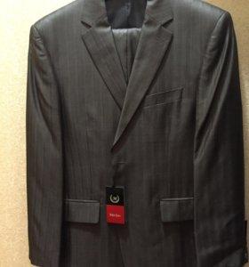 Новый мужской классический костюм, 52 размер