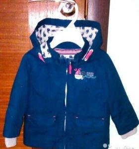Курточка-ветровка, р-р 68-74, в отличном состоянии