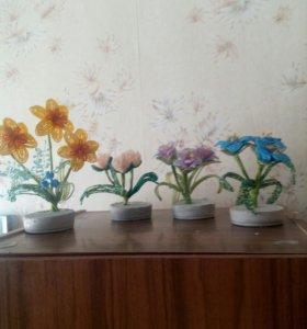 Бисер. Цветы.