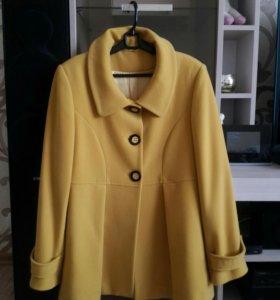 Пальто 63% Wool