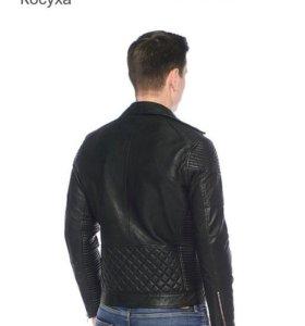 Куртка кожаная новая косуха