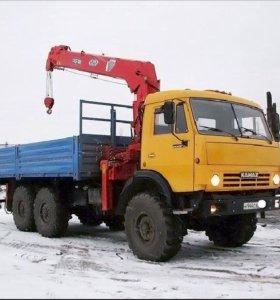 КАМАЗ манипулятор5т-автовышка 18м