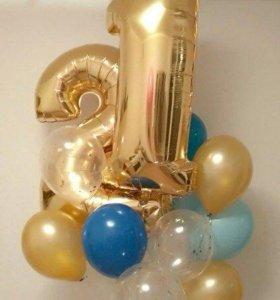 Наборы воздушных шаров на день рождения фотографии