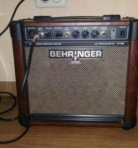Гитарный усилитель behringer at108
