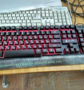 Новая игровая клавиатура с подсветкой
