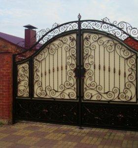Ворот кованые
