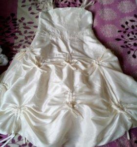 Воздушное платье +болеро для девочки