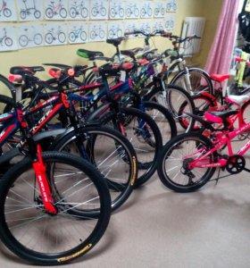 Велосипеды детские взрослые старк