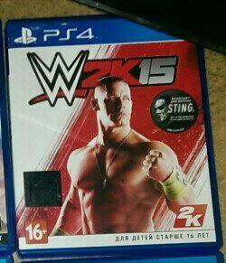 Игра WWE 2k15 на PS4