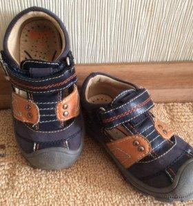 Кожаные сандали, р-р 22