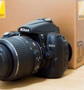 Nikon D5000 kit 18-55 vr зеркалка