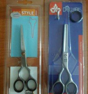 Парикмахерские ножницы Jaguar и Dewal, новые