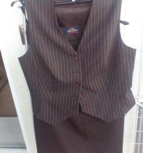 Жилет юбка