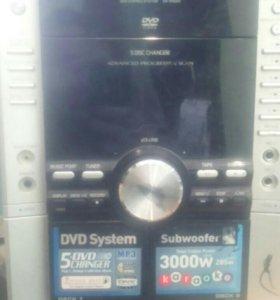 DVD STEREO SYSTEM SA-VK650