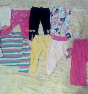 Детские вещи на девочку с рождения до полутора лет