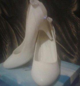 Свадебные туфли 36р