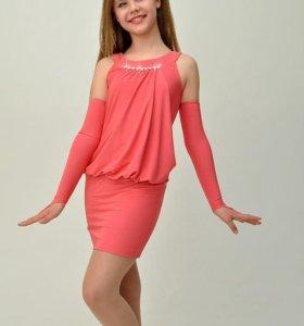 Платье нарядное 38 размер на рост 146