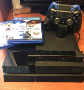Sony PlayStation 4 (500gb) + 3 аксессуара + 2 игры