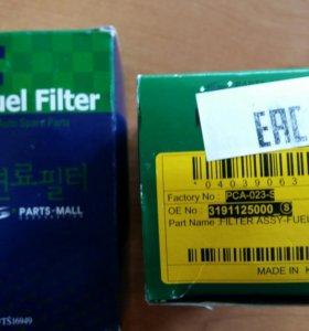 Фильтр топливный Акцент Accent Корея
