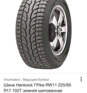 Зимние шины Hankook i*pike rw 11 225/65/17 102T