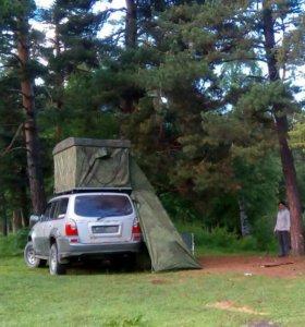 Палатка на крышу авто самодельная