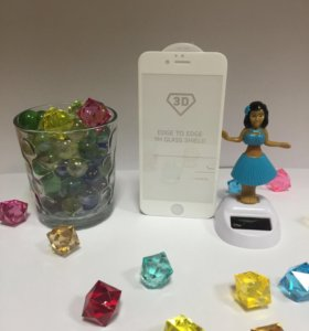 Защитные стекла 3D на iPhone 6/6s/7/8/X