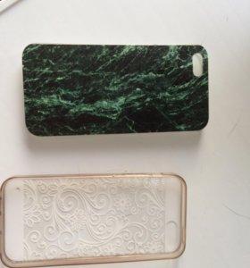 Панелька на 5 айфон осталась зелёная