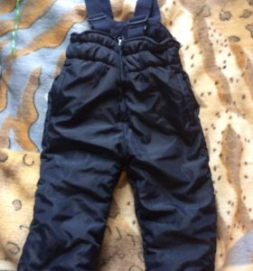 Зимние штаны полукомбинезон