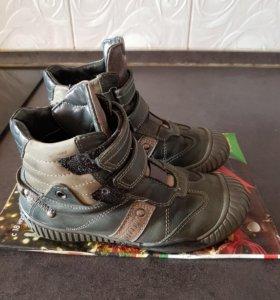 Ботинки демисезонные, размер 32