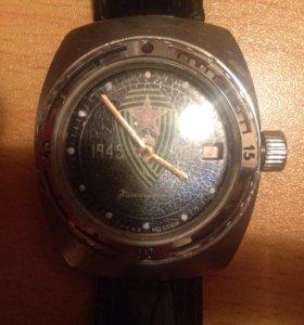 Часы Амфибия Командирские