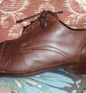 Туфли кожаные Yachtman