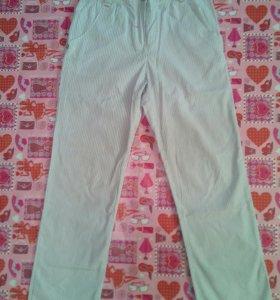 ✨Летние брюки для девочки рост 122- 128✨