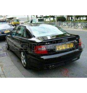 Накладка Rieger на задний бампер Audi A4 (B5)