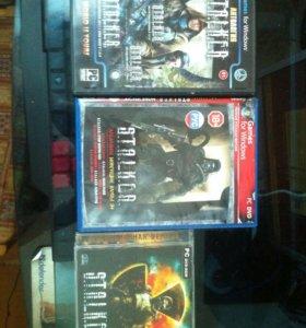 S.T.A.L.K.E.R 3 игровых диска на PC версию