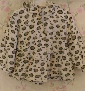 Курточка - плащик для девочки 80 р.