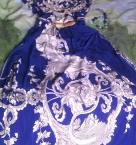 Обмен, Платье в пол праздничное