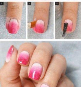 Покрытие ногтей шеллак