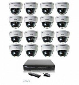 Видеонаблюдение,Скуд,Охранно-Пожарная сигнализация