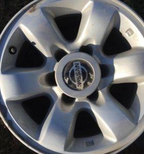 Комплект оригинальных дисков на авто Nissan Patrol