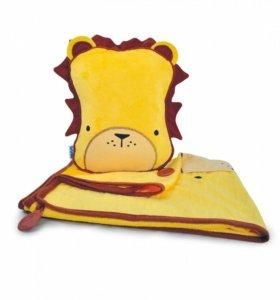 Детская подушка плед