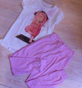 Новая пижама на рост 140см