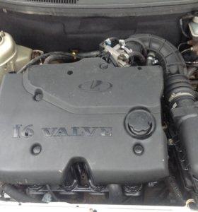 Двигатель 16 клапанный 1.6 также имеется кпп