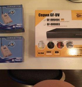 Видеокамеры wifi + регистратор. Все новое с докуме