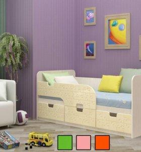 Новая кровать с бортиком
