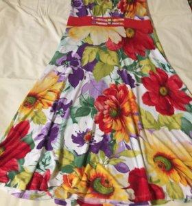 Платье- сарафан 50-52