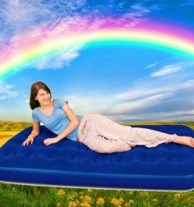 Кровать надувная односпальная