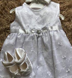 Шикарное итальянское платье для принцессы
